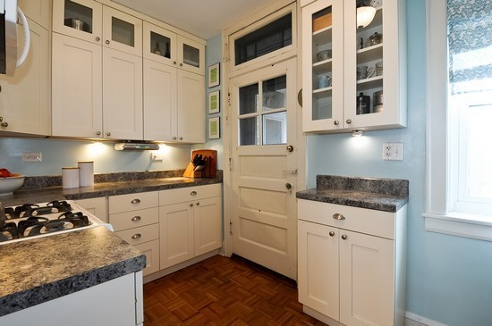 kitchen staged